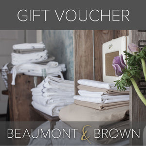 Gift Vouchers from Beaumont & Brown