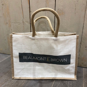 Jute Bag from Beaumont & Brown