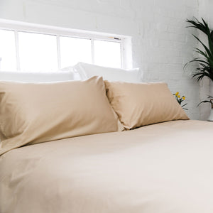Latte 400TC Bedding Set