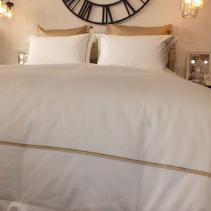 Latte Cross Border 400TC Duvet Cover
