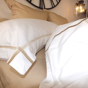 Latte Cross Border 400TC Pillowcases