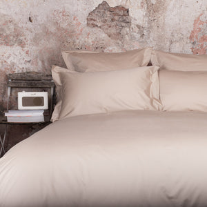 Latte Duvet Cover by Beaumont & Brown