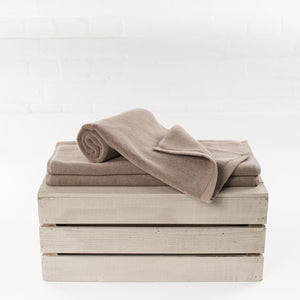 Latte Lightweight Bath Mat by Beaumont & Brown