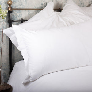 Luxury White Oxford Pillowcases by Beaumont & Brown