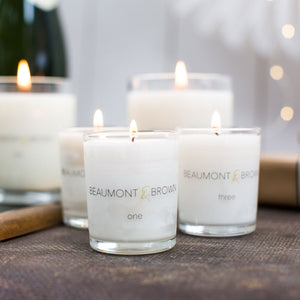 Small Scented Candles from Beaumont & Brown