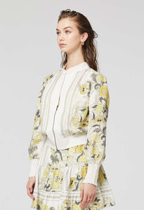 ONCE WAS BOMBER JACKET LEMONCELLO