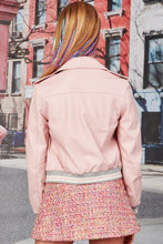 Load image into Gallery viewer, COOP BIKER BOSS JACKET PINK