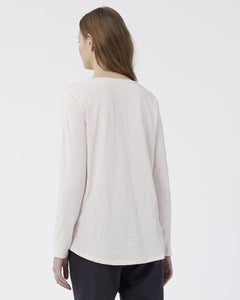 JAC + MOOKI CHARLIE LONGSLEEVE TOP HEAVENLY PINK