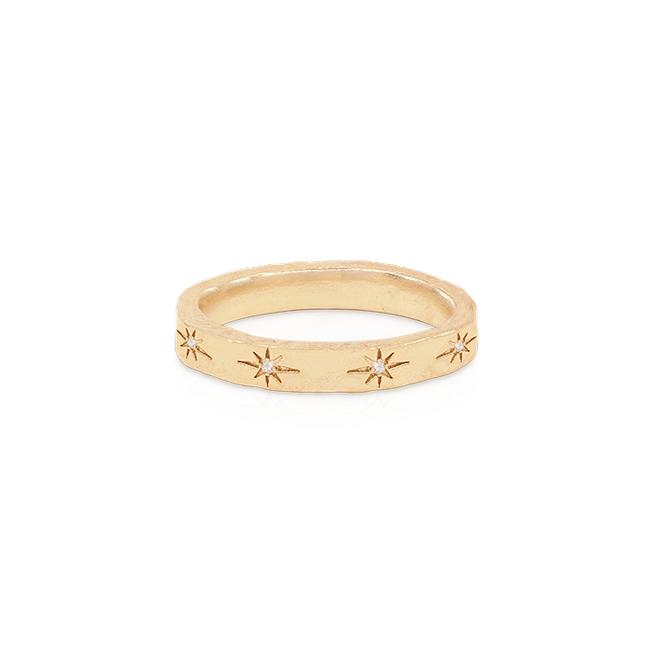 GOLD STARDUST RING