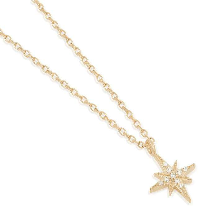 GOLD STARLIGHT NECKLACE