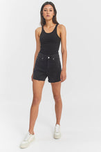 Load image into Gallery viewer, DR DENIM NORA SHORTS RETRO BLACK