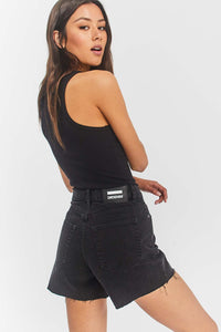 DR DENIM NORA SHORTS RETRO BLACK