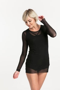NES SOUL TOP BLACK