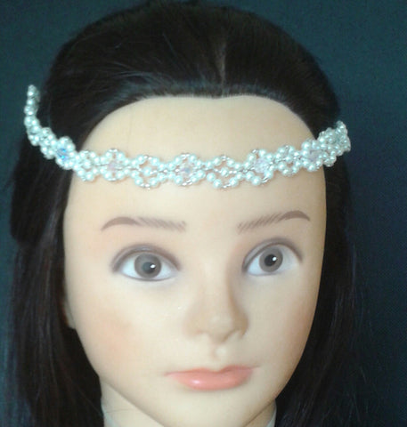 Handmade Head Chain Bridal - Evening - Special Occassion