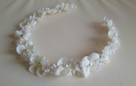 Beautiful handmade Flower Crown / Hair Halo /Hair wreath