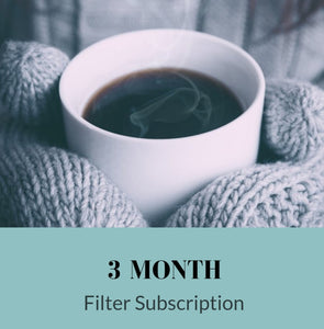 3 Month Subscription: Filter Coffee