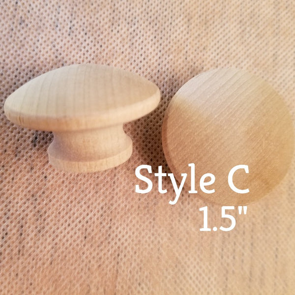 Iron Orchid Design | Wooden Knobs