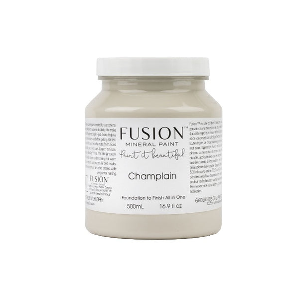 Fusion Mineral Paint | Champlain on white background.