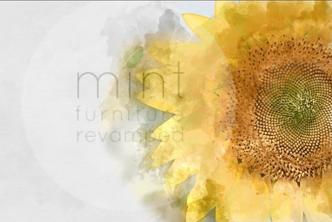 MINT Decoupage papers - Sunflower