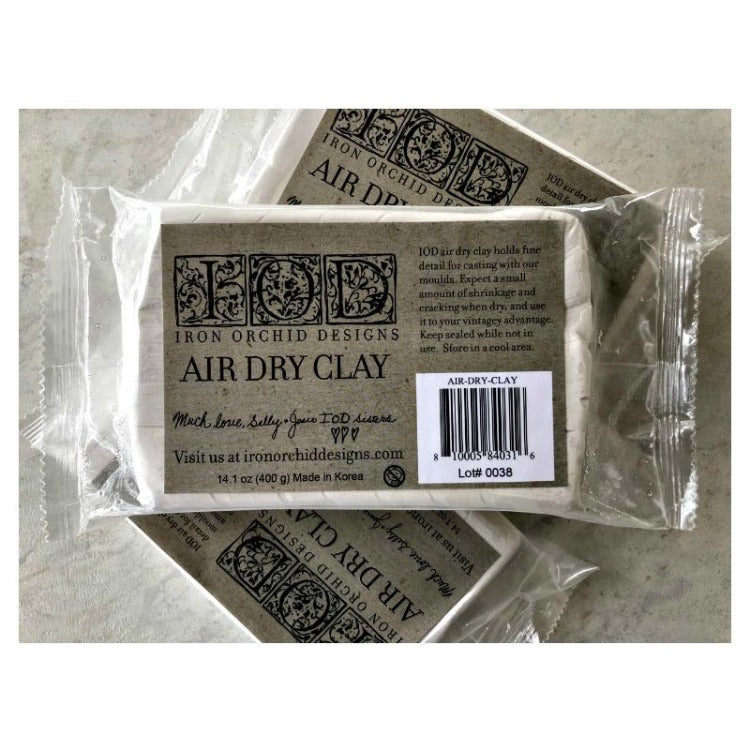 Iron Orchid Design | Air Dry Clay in package on white background.
