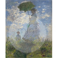 MINT Decoupage papers - Lady with a parasol