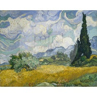 MINT Decoupage papers - Wheatfield with Cypresses