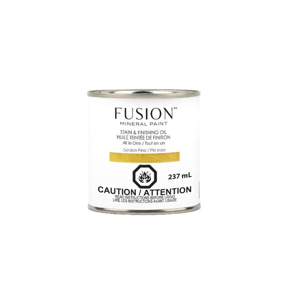 Fusion | SFO Golden Pine on a white background.
