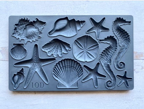 Iron Orchid Design | Moulds | Sea Shells