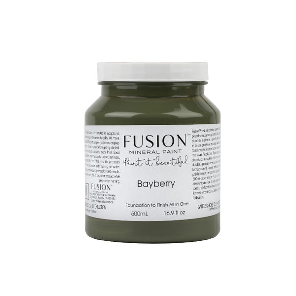 Fusion Mineral Paint | Bayberry on white background.