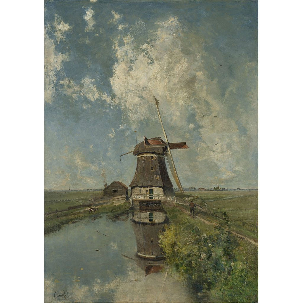 MINT Decoupage papers - Windmill
