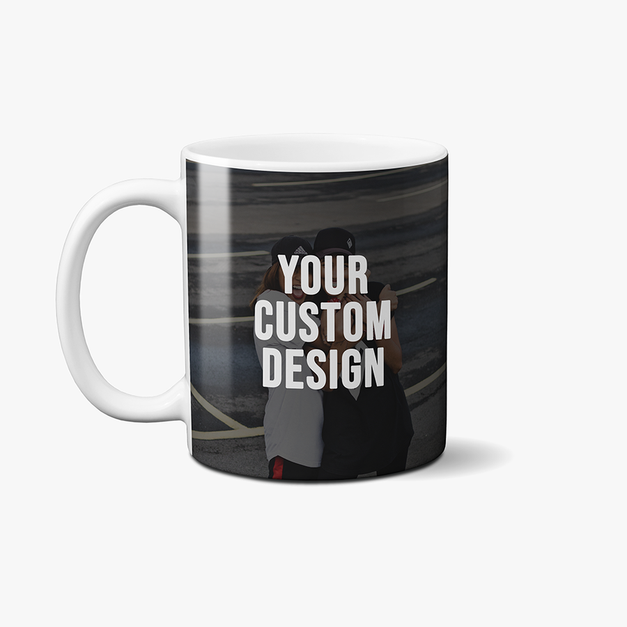 Custom Coffee Mug (White)
