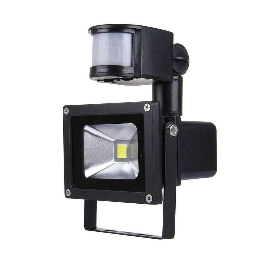10W Solar  LED Infrared Sensor Floodlight Lamp