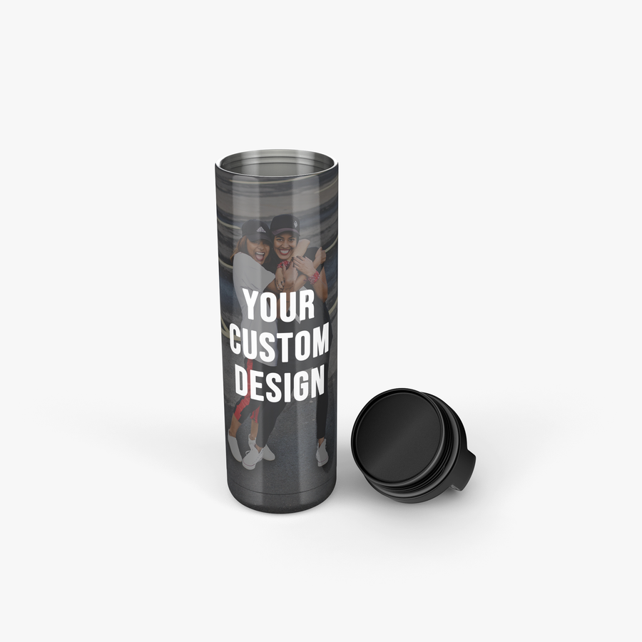 Custom Insulated Tumbler (Clasp Lid)