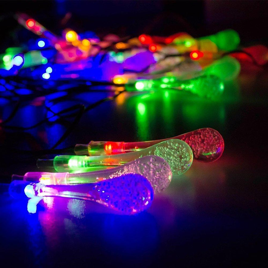 30LED String Solar Fairy Garland open air Lights