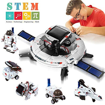 6-in-1 Toys Solar Power Robot Kit  8+