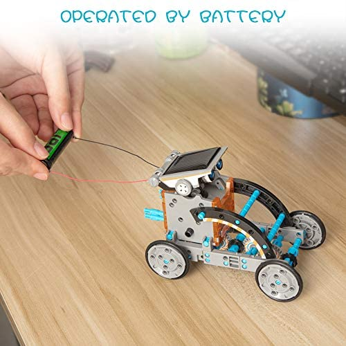 14-in-1 Solar Robot for STEM Toy