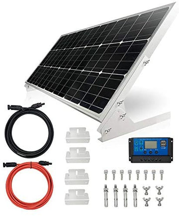 TP-solar 100W 12V Solar Panel Kit Starter Kit Battery Charger 100 Watt 12 V