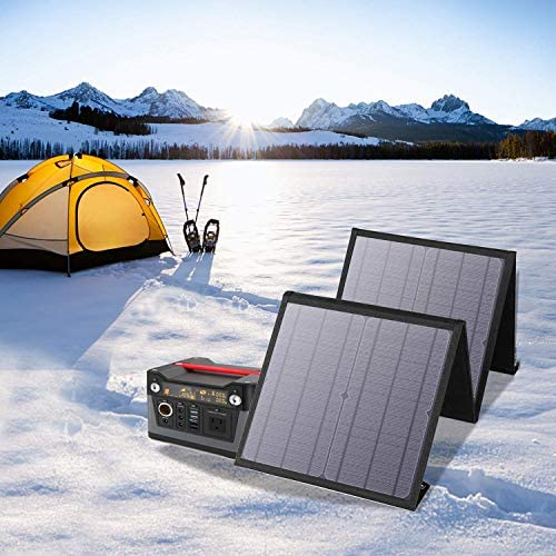 Foldable Fast- Charging Solar Portable Charger