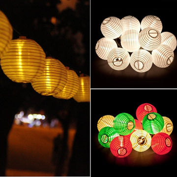 Solar LED Cotton Thread Lights