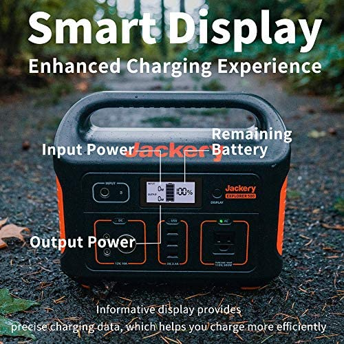 Jackery Portable Indoor/Outdoor Solar Generator