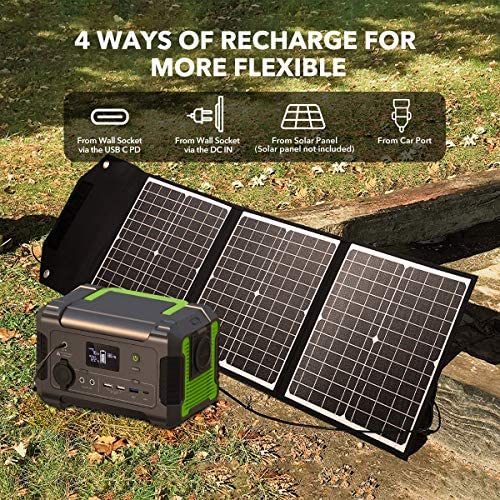 PaXCESS 230Wh Backup  Solar Generator  USB, Type-C