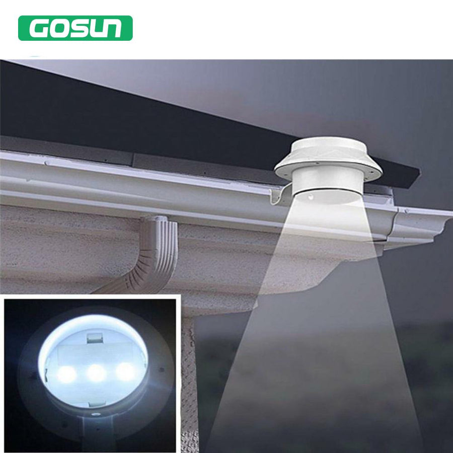 LED Solar Powered open air Security Solar Lamps