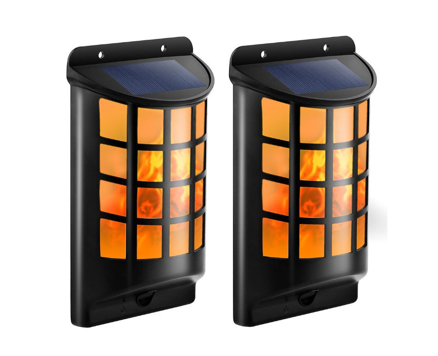 Solar Powered Wall LED Porch Torch