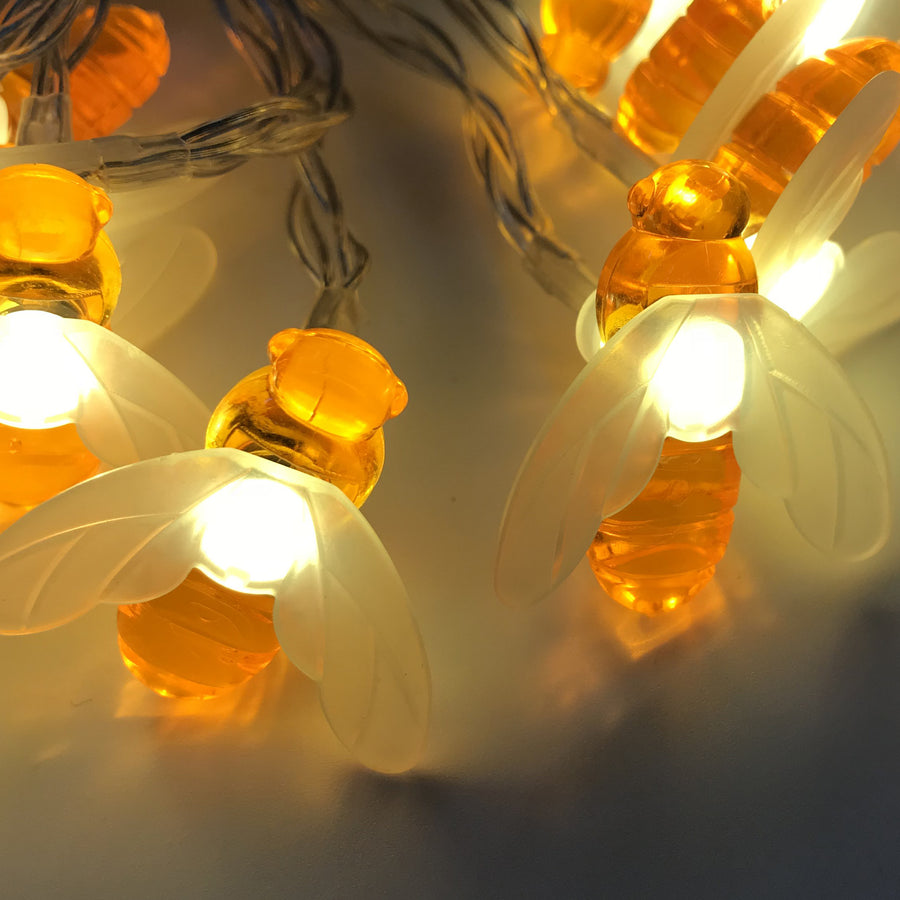 LED light string bee Solar Lights