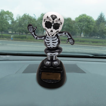 Solar Powered Dancing Halloween Dashboard Toy