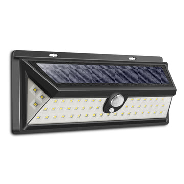 Solar Power Infrared PIR Motion Sensor Wall Lamp
