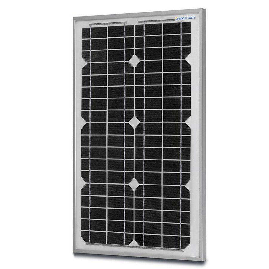 ACOPOWER 30 Watts Mono Solar Panel, 12V