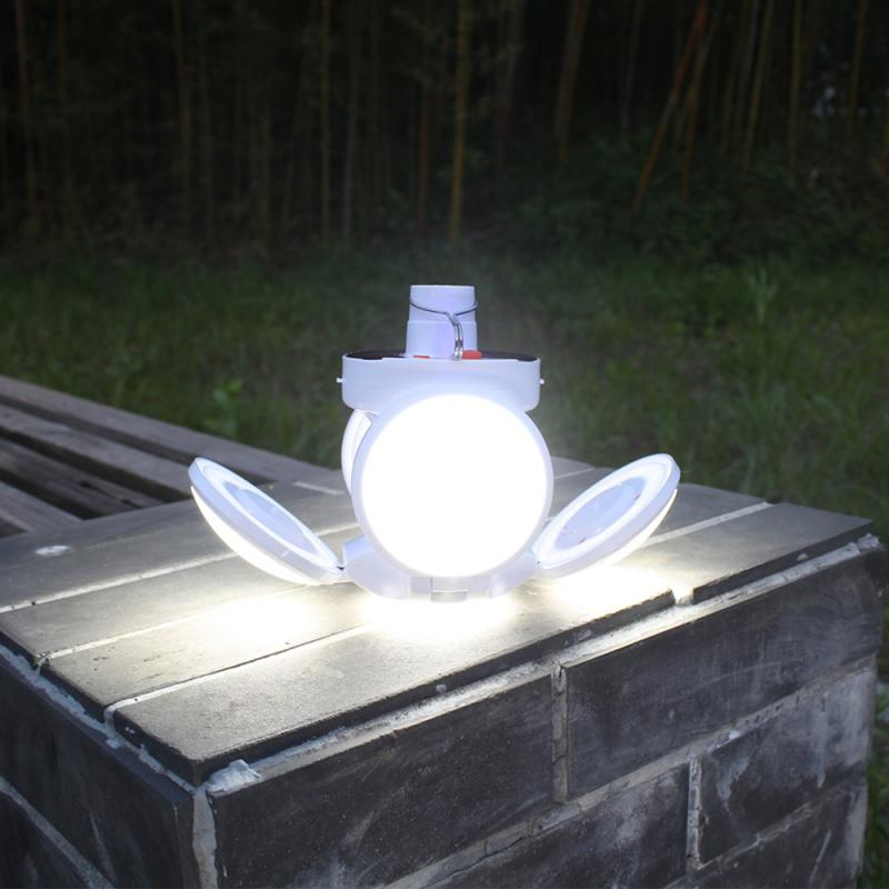 LED Outdoor/Indoor Remote Controlled Solar Lamp