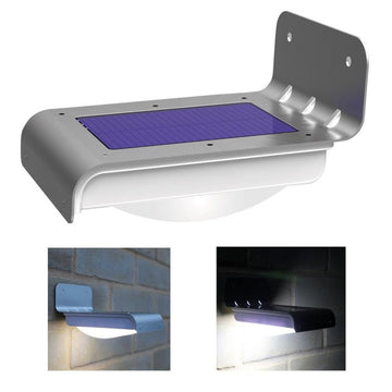 LED Solar Power Motion Sensor Security Lighting
