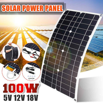 Kinco Flexible 100W Solar Panel kit